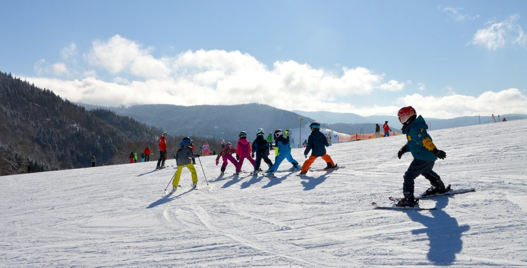 Ski holidays with kids!