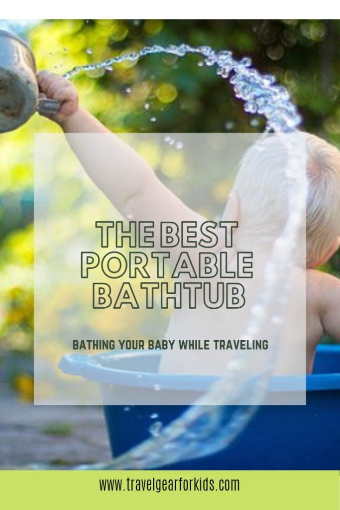 The best travel baby bath on Pinterest