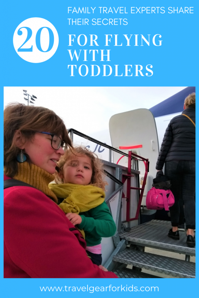 travelling with a toddler on a plane pinterest image 2